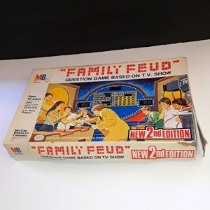 VTG 1978 2ND ED FAMILY FEUD BOARD GAME MB #4723